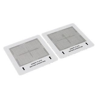 2 Small Ozone Plates for New Comfort Ch, Rh, Ca, Bl, and Ba Air Purifier