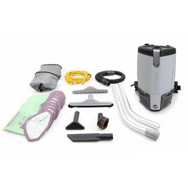 Proteam 2014 Provac Fs6 Backpack 6-quart Vacuum Cleaner
