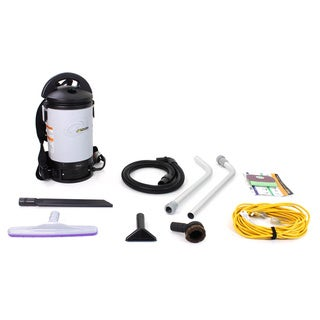 Proteam Sierra Backpack Vacuum Cleaner with Tools and Restaurant Kit