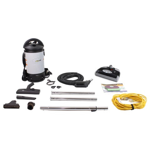 Sierra Backpack Proteam Commercial Vacuum with 32mm Tools and Electric Power Head Kit