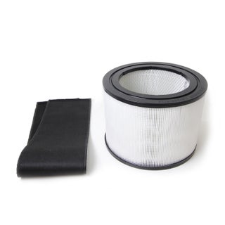 HEPA Filter and Charcoal Filter for The Filter Queen Defender Air Purifier Cleaner - Black