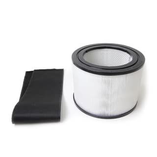 HEPA and Charcoal Filter for The Filter Queen Defender Air Purifier - Black