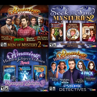Legacy Games 4-in-1 Hidden Object Games Pack