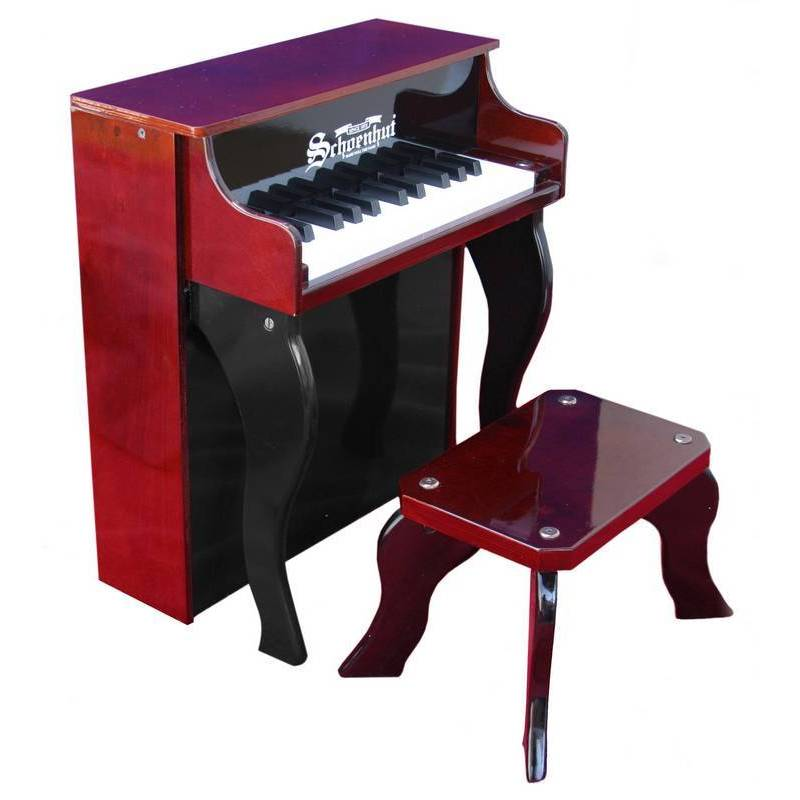 Schoenhut 25-key Elite Spinet Toy Piano (Red)