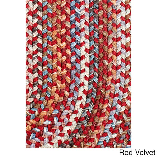 Rhody Rug Augusta Space Dye Wool Braided Rug On Sale Overstock 10199595