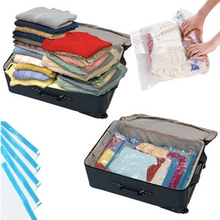 As Seen on TV 4-piece Travel Space Saving Bag Set