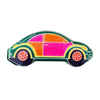 Handmade Volkswagon Leather Toy Bank (India)