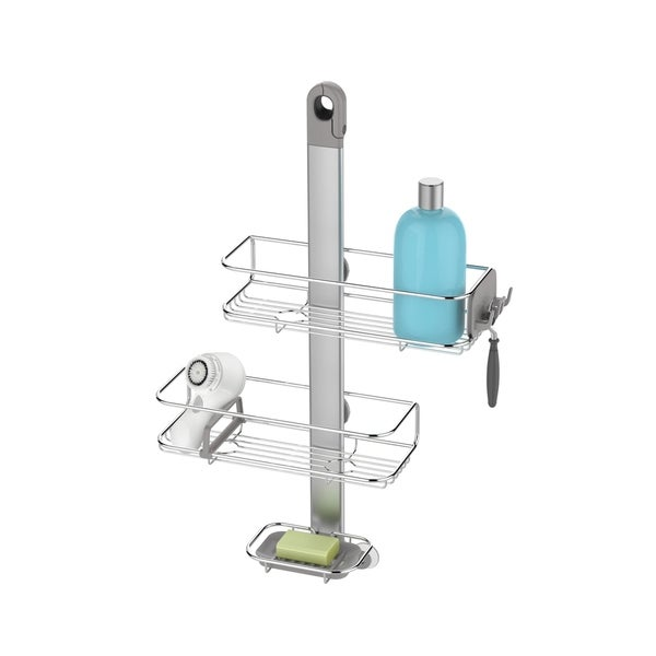 Shop Adjustable Shower Caddy Stainless Steel/ Anodized Aluminum ...