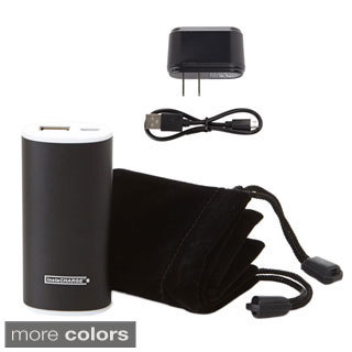 instaCHARGE 3000mAh Portable Charger Power Bank with Pouch