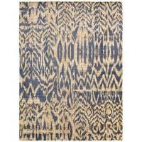 Barclay Butera Moroccan Indigo Area Rug by Nourison (5'3 x 7'5)