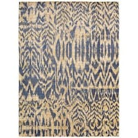 Barclay Butera Moroccan Indigo Area Rug By Nourison 5 3 X
