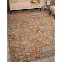 Barclay Butera Moroccan Antique Area Rug by Nourison - 5'3 x 7'5