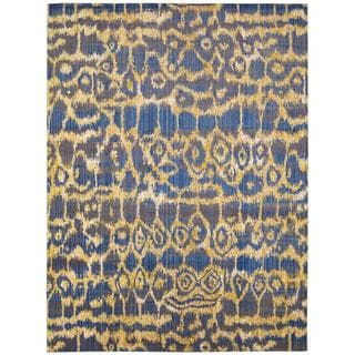 Barclay Butera Moroccan Ink Area Rug by Nourison (5'3 x 7'5)