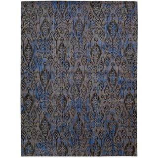 Barclay Butera Moroccan Indigo Area Rug by Nourison (7'3 x 9'9)