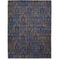 Barclay Butera Moroccan Indigo Area Rug by Nourison - 7'3 x 9'9