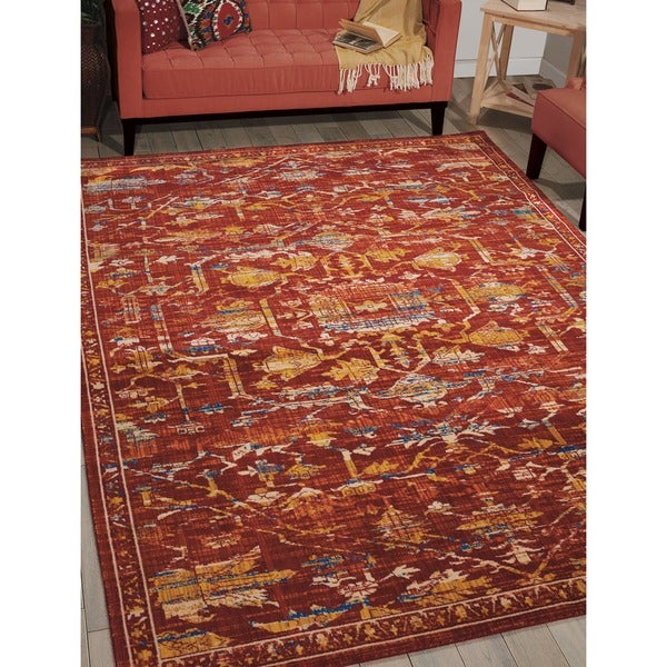 Throw Rugs At Dollar General: Shop Barclay Butera Moroccan Paprika Area Rug By Nourison