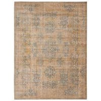 Barclay Butera Moroccan Gold Area Rug by Nourison - 7'3 x 9'9
