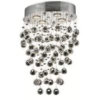 Elegant Lighting 4-light Chrome 16-inch Royal Cut Crystal Clear Hanging Fixture