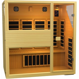 JNH Lifestyles MG401HB Joyous 4-person Low-EMF Far Infrared Sauna