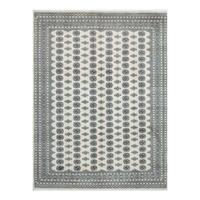 Herat Oriental Pakistani Hand-knotted Bokhara Wool Rug - 9'3 x 12'3