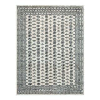 Herat Oriental Pakistani Hand-knotted Bokhara Wool Rug (9'3 x 12'3)