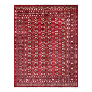 Herat Oriental Pakistani Hand-knotted Bokhara Wool Rug (8'1 x 10'3)