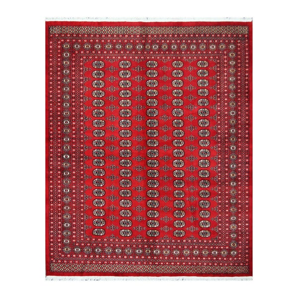 Pakistan Bokhara Rugs In Red: Shop Handmade Herat Oriental Pakistani Bokhara Wool Rug