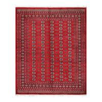 Handmade Herat Oriental Pakistani Bokhara Wool Rug  - 8'2 x 10' (Pakistan)