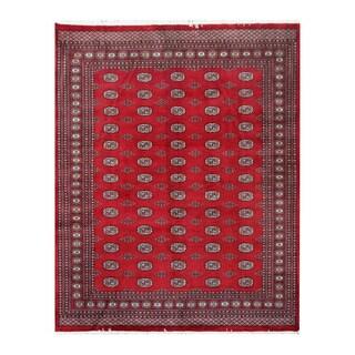 Herat Oriental Pakistani Hand-knotted Bokhara Wool Rug (8'2 x 10'3)