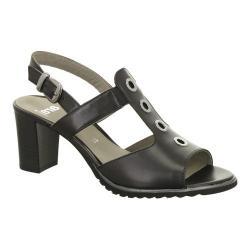 Women's ara Gale 35647 Sandal Black Calf