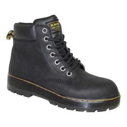 Men's Dr. Martens Winch Safety Toe Black Wyoming