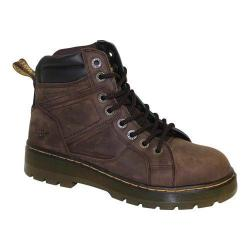 Men's Dr. Martens Duct Safety Toe Dark Brown Wyoming