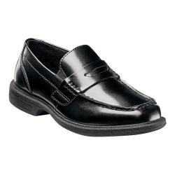 Boys' Nunn Bush Kent Jr. Classic Penny Loafer Black Synthetic
