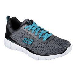 Men's Skechers Equalizer 2.0 Settle The Score Training Shoe Charcoal/Black