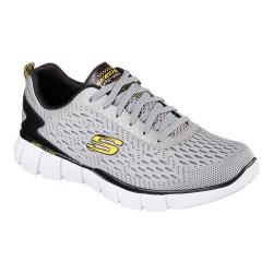 Men's Skechers Equalizer 2.0 Settle The Score Training Shoe Gray/Yellow