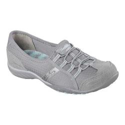 Women's Skechers Relaxed Fit Breathe Easy Allure Bungee Lace Shoe Gray