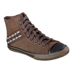 Men's Skechers Star Wars Legacy Vulc Chewie High Top Chocolate