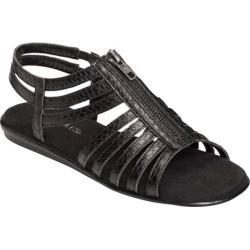 Women's Aerosoles Chlothesline Black Snake Faux Leather