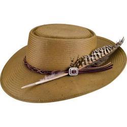 Bailey Western Rowan Straw Hat Khaki