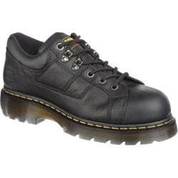 Dr. Martens Heritage Gunby ST 6 Tie Lace to Toe Shoe Black Industrial Grizzly