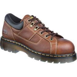 Dr. Martens Heritage Gunby ST 6 Tie Lace to Toe Shoe Teak Industrial Trailblazer