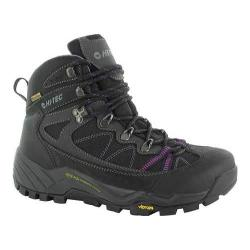 Women's Hi-Tec V-Lite Altitude Pro Lite Hiking Boot Charcoal/Orchid Leather