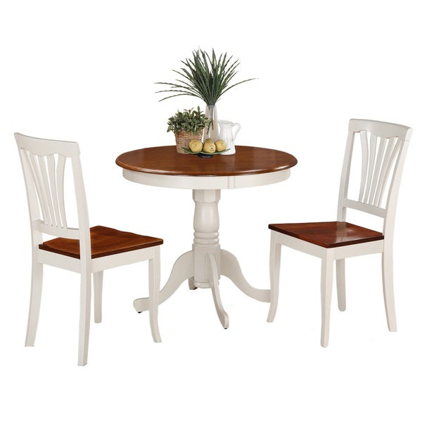 kitchen nook corner dining breakfast set amish sets piece small table chairs white