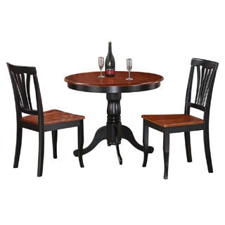 3-Piece Kitchen Nook Dining Set-Small Kitchen Table and 2 Kitchen Chairs