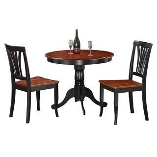 3-Piece Kitchen Nook Dining Set-Small Kitchen Table and 2 Kitchen Chairs  sc 1 st  Overstock & Size 3-Piece Sets Kitchen \u0026 Dining Room Sets For Less | Overstock.com