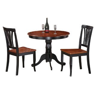 3-Piece Kitchen Nook Dining Set-Small Kitchen Table and 2 Kitchen Chairs (2 options available)