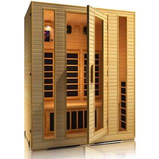 JNH Lifestyles Joyous 3-person Zero-EMF Far Infrared Sauna / Model MG301HB