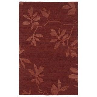 "Handmade Wool Mallard Creek Salsa Altamaha Floral (5' x 7'9"")"