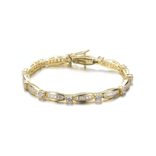 Collette Z Goldplated Sterling Silver Cubic Zirconia Bracelet