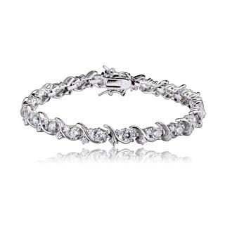 Collette Z Sterling Silver Cubic Zirconia Fine Bracelet